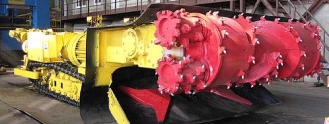 шахтные самоходные буровые установки